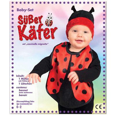 Marienkäfer Kostüm Kleinkind, Gr. 86 Karnevalskostüm Fasching - Kleine Marienkäfer Baby Kostüm