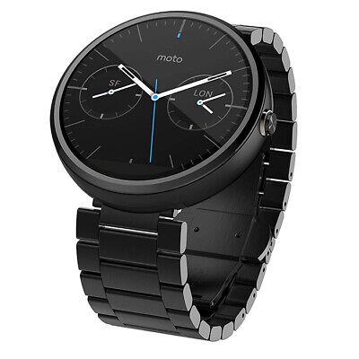 Motorola Moto 360 1st Gen Smartwatch Dark Metal NEW comprar usado  Enviando para Brazil