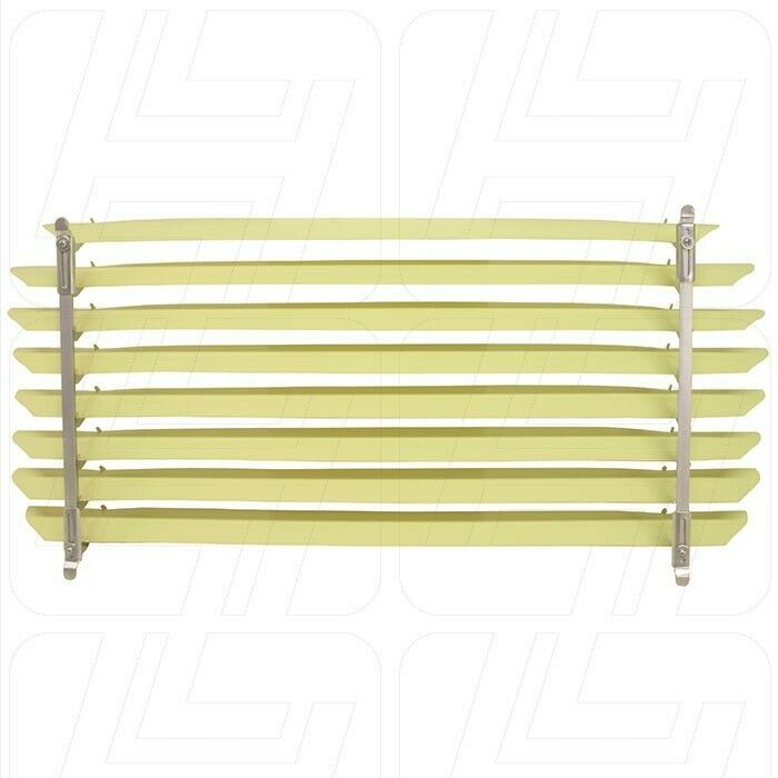 Rear Window Blind with Ivory Coloured Slats for Beetle 1965-1971