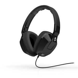 2013-Skullcandy-Crusher-Over-Ear-Headphones-w-Mic-Subwoofer-in-Black