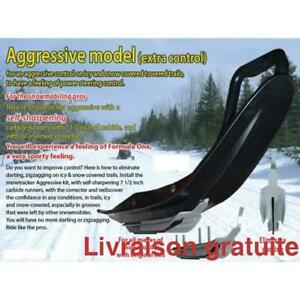 Snowtracker agressif Lisse + U-Blade   Pro-Steer, Pro-Float   Polaris
