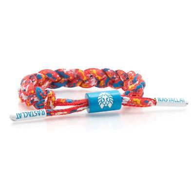 Brand New RASTACLAT Lyric Red Mini Braided Shoelace Bracelet