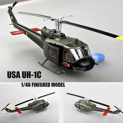 USA UH-1C of the 120th AHC,3rd platoon,1969 1/48 Finished helicopter Easy Model for sale  Shipping to Canada