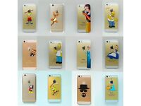 iPhone 5 / 5s / 5SE / 6 / 6s Hard Case Covers - Disney, Simpsons, SpongeBob, Minions, Heisenberg