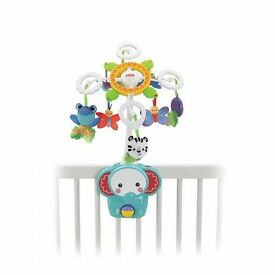 Cot to floor mobile Fisher Price