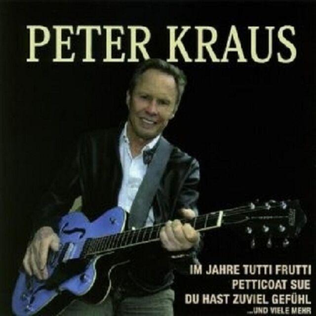 """PETER KRAUS """"I M JAHRE TUTTI FRUTTI,PETTICOAT SUE UND VIELE MEHR""""  CD NEUWARE"""