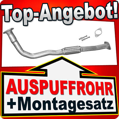 Auspuff Fiat Doblo 1.9 Diesel 2001-2005 Rohr Abgasrohr 574