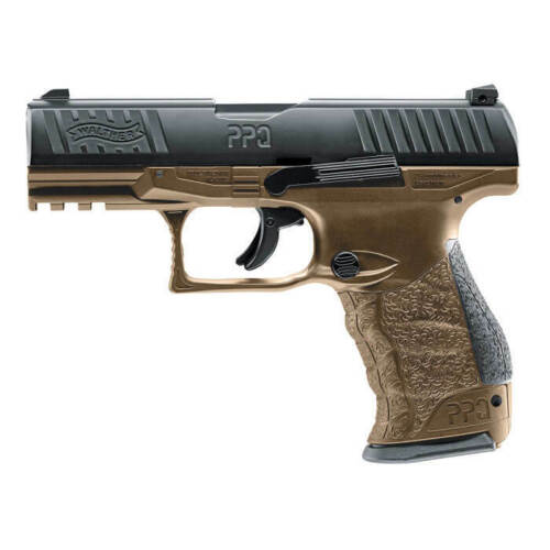 T4E WALTHER PPQ M2 LE TRAINING MARKER / PAINTBALL PISTOL .43 CAL - FDE