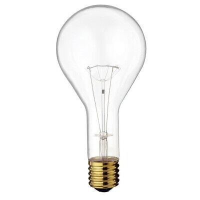 Satco S4961 300W 130V PS35 Clear E39 Mogul Base Incandescent light bulb Clear Mogul Screw Base