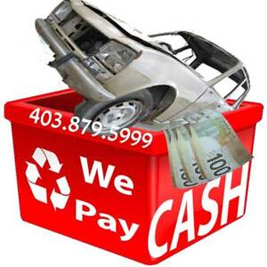 - GET upto $1,000 CASH FOR YOUR JUNK CAR  ☎: 403.879.5999