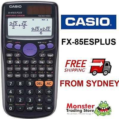 AUSSIE SELLER CASIO SCIENTIFIC CALCULATOR FX-85 FX85 FX-85ESPLUS WARRANTY