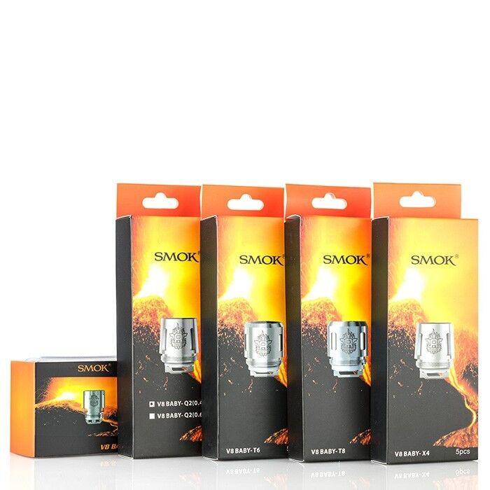 SMOK TFV8 Baby Coil X4 / Q2 / T6 / T8 / M2  Coil Verdampfer Atomizer Verdampfer