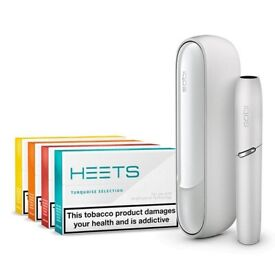 PMI IQOS 3 DUO White + 4x HEETs - BRAND NEW RRP £89.00