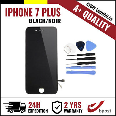 A+ LCD TOUCH SCREEN DISPLAY SCHERM ÉCRAN BLACK NOIR & TOOLS FOR IPHONE 7 PLUS