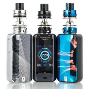Stop Smoking-Start Vaping ! VAPORESSO LUXE 220W & SKRR TANK STARTER KIT,Electronic Cigarettes ,Free Shipping!