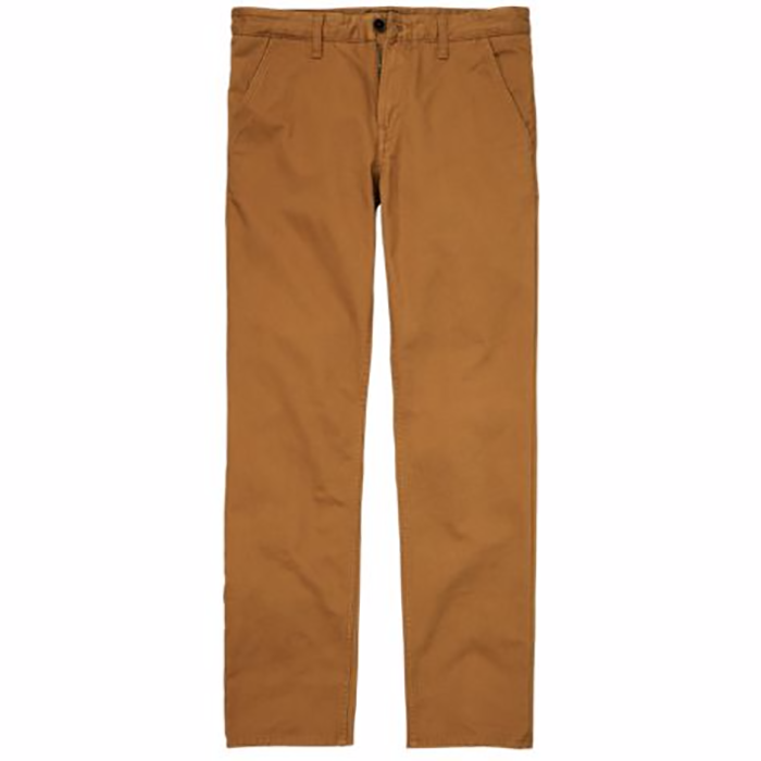 Timberland Men's Squam Lake Straight Fit Bronze Twill Chino Pants A17HE