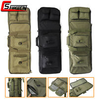 33''/85cm Tactical Rifle Bag Hunting Carbine Gun Case Shotgun Backpack Military - unbranded - ebay.co.uk
