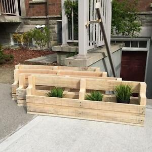 Pallet Planter Boxes For Herbs / Flowers