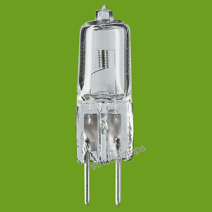 10 X G4 Halogen B Rated Energy Saving Light Bulbs 14w 20w Long Life