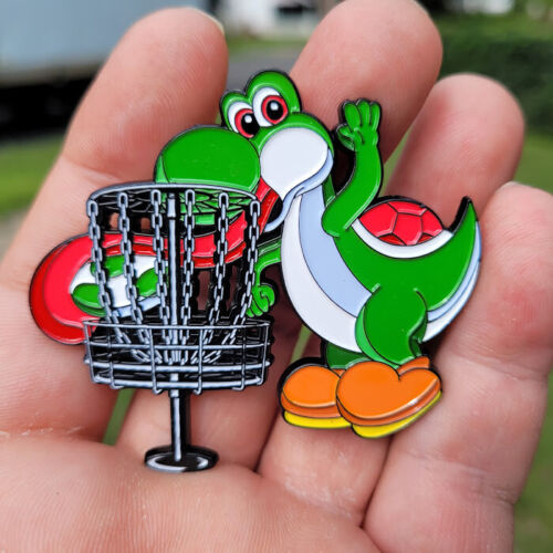 Disc Golf  Pin - NEW 2 1/2