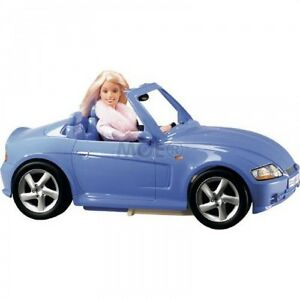 barbie cool convertible car blue rare collectable mattel 2003 ebay. Black Bedroom Furniture Sets. Home Design Ideas