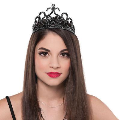 Diadem Gothic Princess, schwarz Krone Krönchen