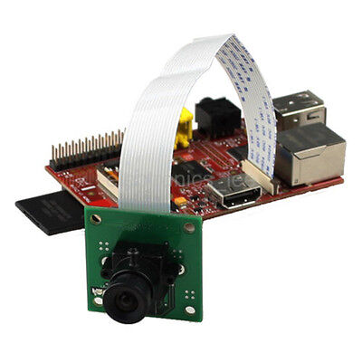 Camera Module Board 5MP sensor  with Lens for Raspberry Pi 3 / B+ / 2 Model B
