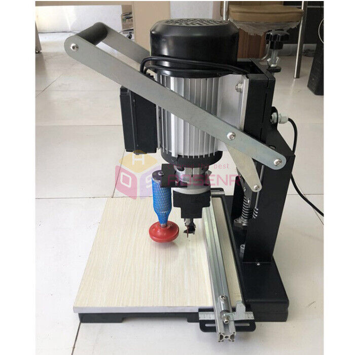 110V/220V  Portable Hinge Drill Hole Machine Woodworking Drill Boring Machine