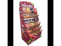 Bouncy castle add on pick and mix stand