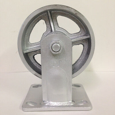 Heavy Duty 5 X 2 Steel Wheel With Rigid Caster