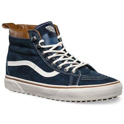 VANS SK8-HI (MTE) ALL WEATHER DRESS BLUES NAVY SKATE SHOES MENS SZ 10.5 NEW ⚡