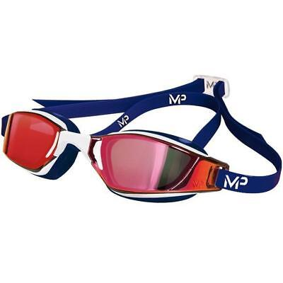 MP Michael Phelps XCEED Mirrored Goggles Red/White/Blue LIMITED EDITION