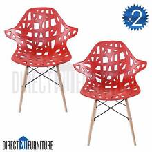 x2 Chairs - BEIJING Replica Eames Nest DSW Eiffel Dining Room Regents Park Auburn Area Preview
