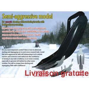 SEMI Agressif,  Lisse + U-Blade,   Ski-Doo,  ''Grand Touring''  Pilot 5.7 SL Pilot SL