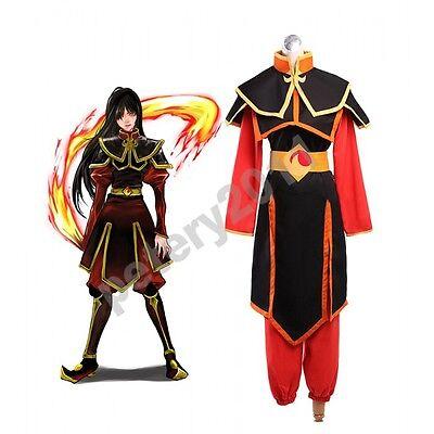 Custom-made Avatar The Last Airbender Azula Cosplay Costume Halloween (Avatar The Last Airbender Halloween Costume)