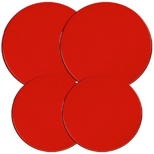 Best Electric Stove Top Range Round Red Design Burner Covers