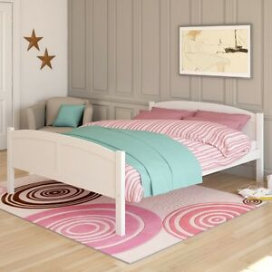 New Brown or White Queen Size Bed