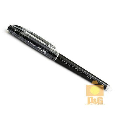 Pilot Frixion Colors Erasable Marker 0.4mm Gel Pen Black Lf-22p4