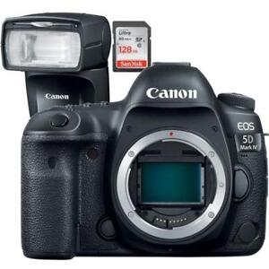 New CANON EOS 5D Mark IV Body + BUNDLE