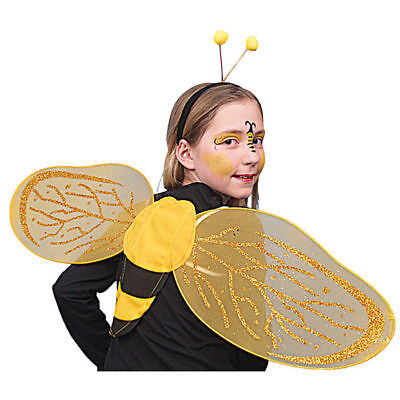 - Gelbe Kostüm Flügel