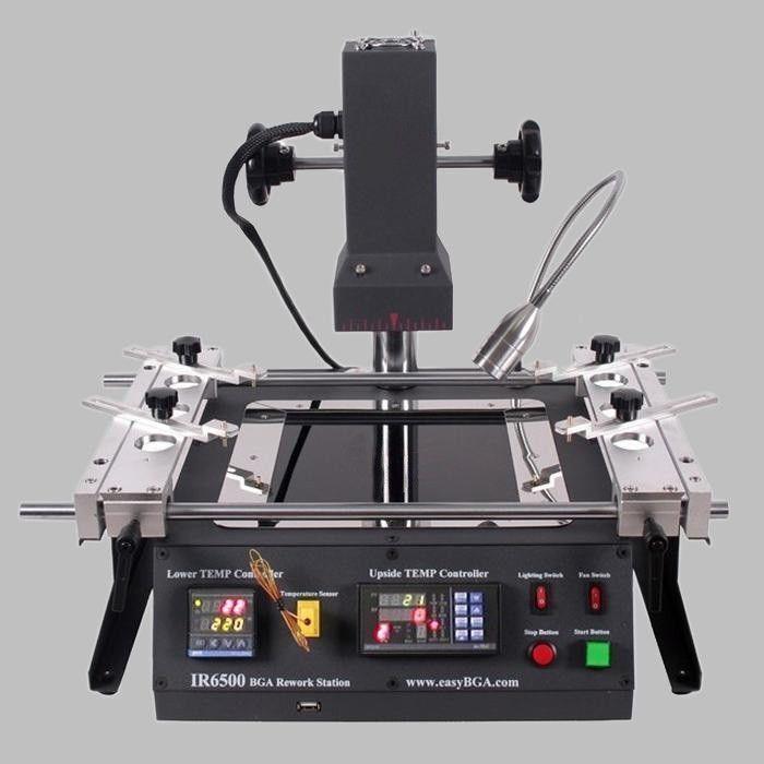 IR-6500 Infrared BGA Rework Station 110V Infrared Soldering For Xbox360 PS3