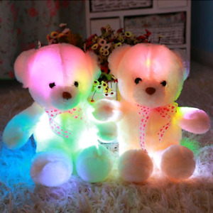 Colour changing Glow Bears
