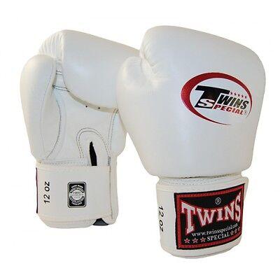 Twins Boxhandschuhe BGVL 3, in weiß. Muay Thai, Kickboxen, Boxen, MMA.best