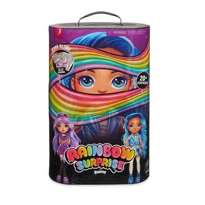 Poopsie Rainbow Surprise Dolls, Amethyst Rae or Blue Skye, Multicolor I5 NEW NIP