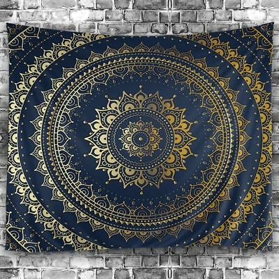 Mandala Print Tapestry Hippie Wall Hanging Inidian Art Bedspread Home Decor New - Print Mandala