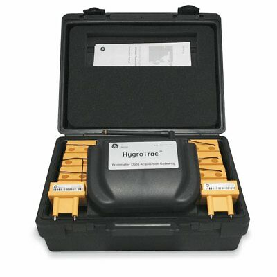 New Unused Wireless Protimeter Hygrotrac Rh Kit Bld9000 With 10 Sensors