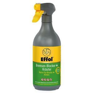 EFFOL Bremsen-Blocker+ Kräuter 750ml Fliegenspray Bremsenblocker Insektenschutz