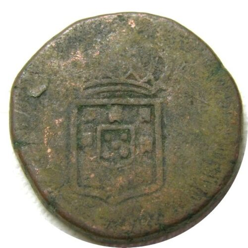 elf India Portuguese Goa 1 Tanga 60 Reis (1826-34)