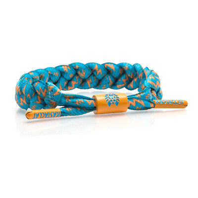 Brand New RASTACLAT Zard Mint Teal Splatter Braided Shoelace Bracelet