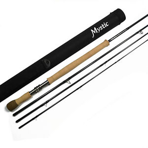 mystic m series switch fly fishing rod 11 39 3 8 wt for spey or one hand casting ebay. Black Bedroom Furniture Sets. Home Design Ideas